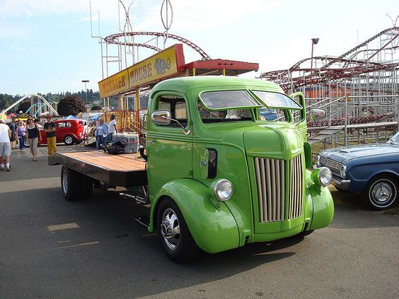40's Ford COE Truck | Cool old trucks | Pinterest | Nice ...