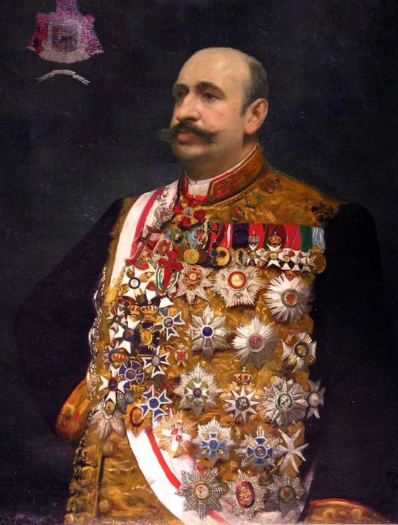 Portrait of Prince Cesarevitch Guedroitz, Chamberlain of the Court of Imperial Russia 1873-1941 Museum of the Legion of Honor, Hotel de Salm.