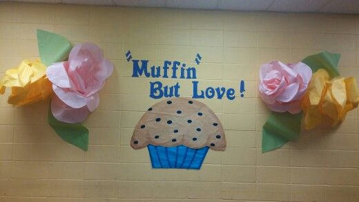 Muffins for moms decorations decorating for school activities pinterest decoration - Muffins fur kindergarten ...