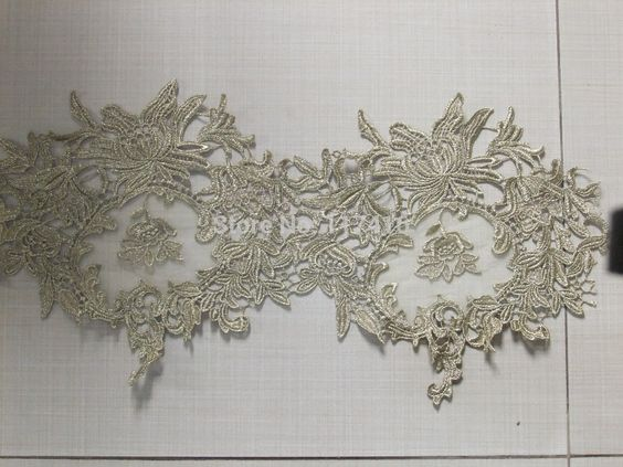 Aliexpress.com : Buy high quality 22 cm new gold embroidery lace home decoration material 15 yards / lot from Reliable lace supplier suppliers on LFY .,CO LTD LACE AND RIBBON