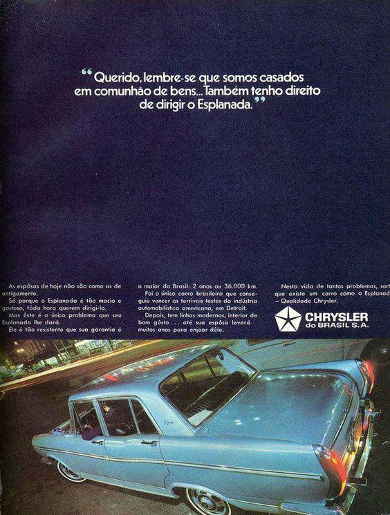 1969 Chrysler Esplanada - Brasil