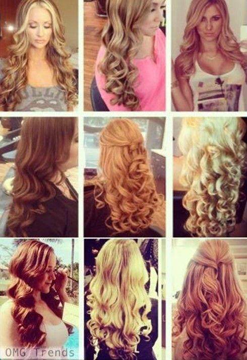 Magnificent Long Curly Hairstyles Long Curly And Curly Hairstyles On Pinterest Hairstyles For Women Draintrainus