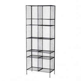 Check out this Black Metal Shelves on HushHush.- dining room style
