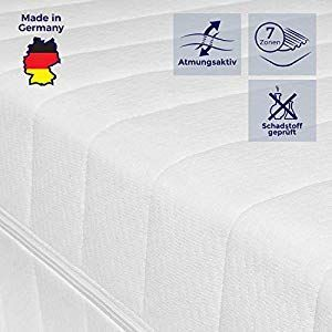 Mister Sandman Orthopadische 7 Zonen Kaltschaum Matratze 90x200 140x200 100x200 100x200 140x200 90x200 K Foam Mattress Storage Container Homes Mattress