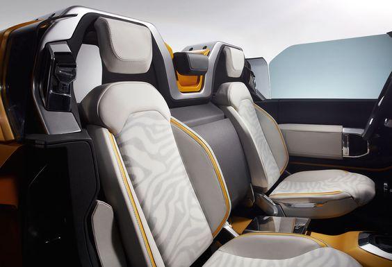 Land Rover DC100 Sport, 2011 - Interior