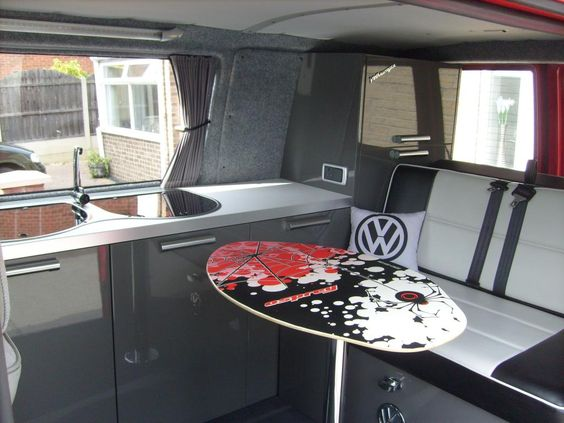 Camper can conversion shower idea diy camper conversions for Vw t4 interior designs