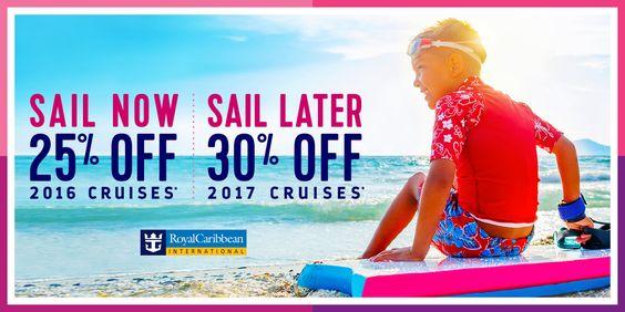 Royal Caribbean: Sail Now or Sail Later and Save