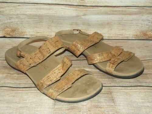 VIONIC Teagan Cork Strappy Sandals