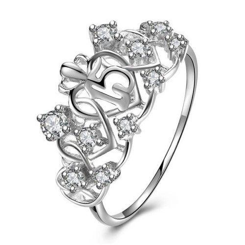 Sterling Silver 15 Años Quinceañera Ring Pendant Plata Solida Anillo Dije Set