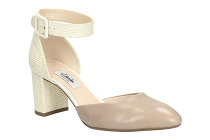 Womens Smart Shoes - Blissful Charm in Shingle Combi from Clarks shoes