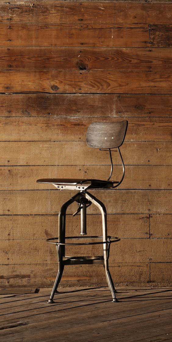 Commercial grade stools from Industry West.