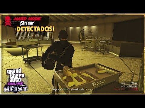 Golpe Al Casino En Sigilo Y Sin Ser Detectados 3 Jugadores Lingotes De Oro Gta Online Youtube Gta Lingotes De Oro Casino