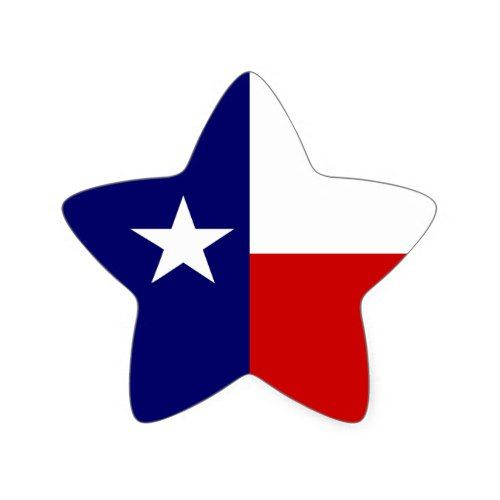 Texas Flag Lone Star State Travel Promo Sticker Zazzle Com In 2020 Lone Star Flag Lone Star State Lone Star