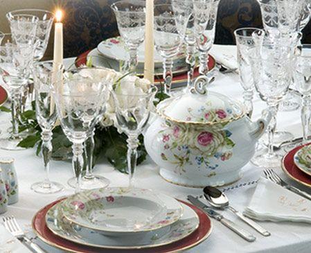 Decoraci n y moda vajillas conjunto de mesa chateau for Galeria del coleccionista vajillas