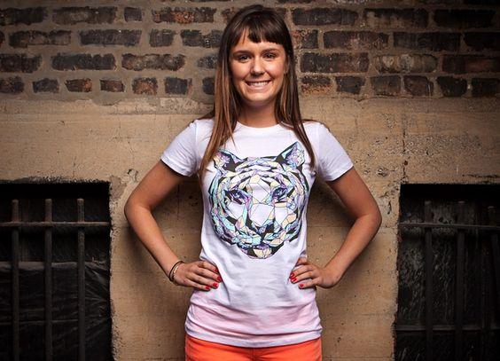 I need this. Crystal Tiger T-Shirt