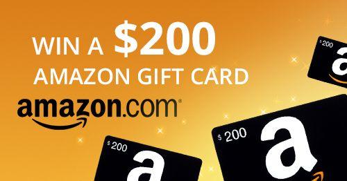 Win 200 Amazon Gift Card Amazon Com Amazon Gift Card Free Amazon Gift Cards Sephora Gift Card