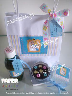 Paperdesign by Adriana Gasparini: Festa Infantil - Lembrancinhas