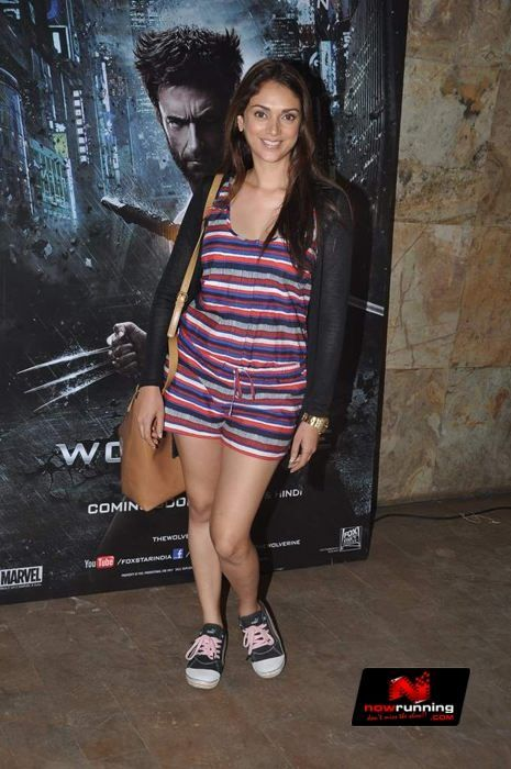 Aditi Rao Hydari At Wolverine Screening