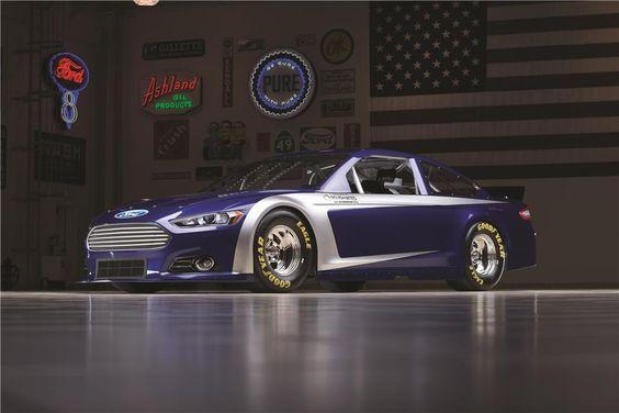 Fusion Nascar Race Car