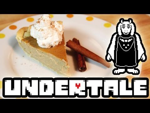 How to Make Butterscotch Cinnamon Pie from UNDERTALE! Feast of Fiction ...