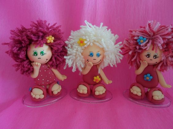 these little clay dolls are adorable