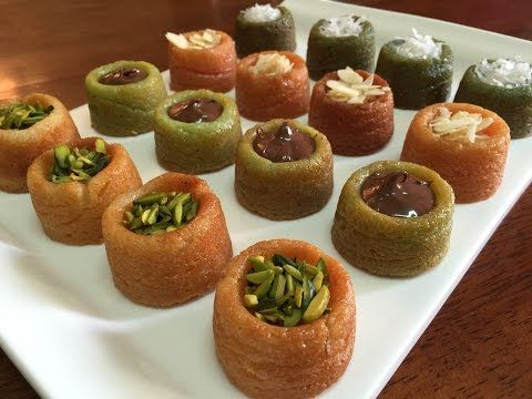 وجبات 15 ثانية ميني تارت Youtube Arabic Food Food Desserts