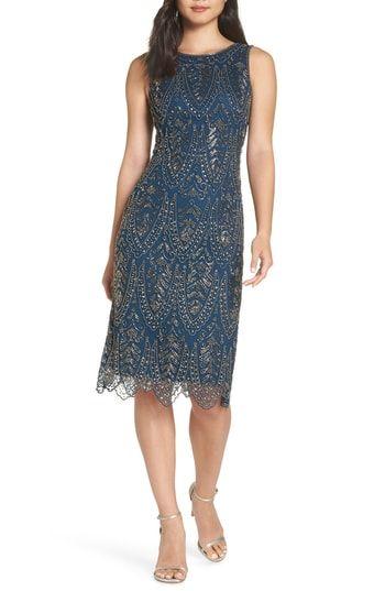 Pisarro Nights Middy Zigzag Sheath Dress Trendy Cocktail Dresses Dresses Summer Cocktail Dress