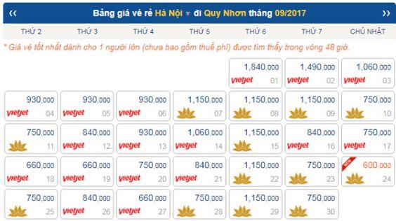 Nhat dinh phai mua ve may bay di Quy Nhon tham Ky Co