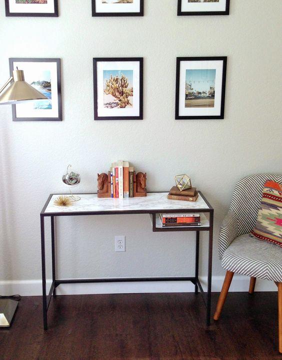 horns consoles and ikea hacks on pinterest. Black Bedroom Furniture Sets. Home Design Ideas