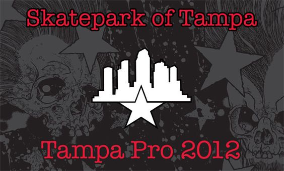 Live Webcast of Tampa Pro 2012 at 11am EST