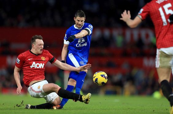 Phil Jones has the worst game face