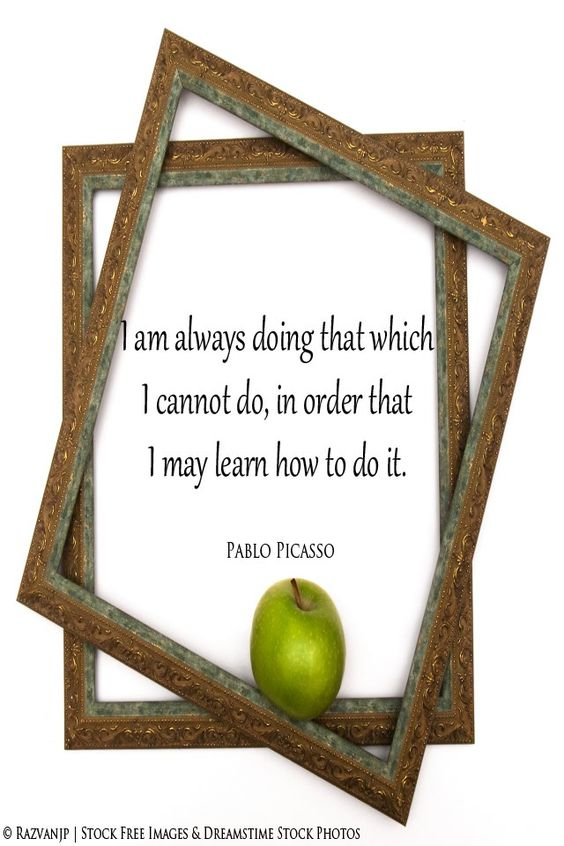 Do what you cannot do