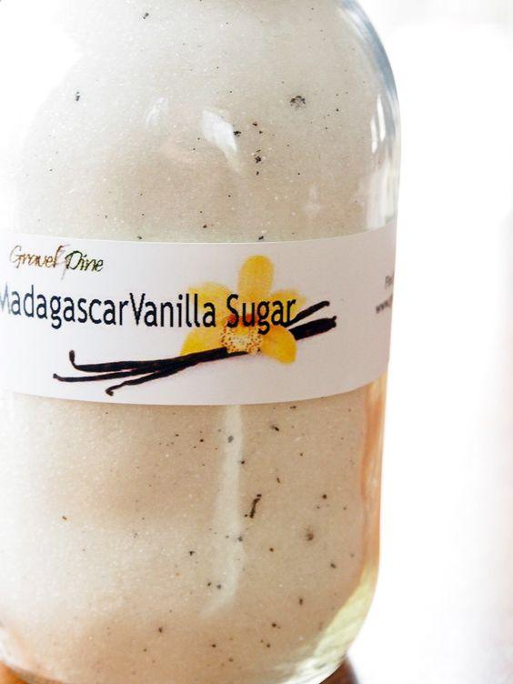 Homemade Vanilla Sugar | Gravel & Dine
