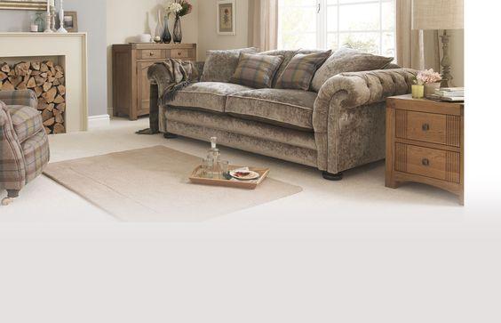 Living Room Ideas Mink grand pillow back sofa loch leven | dfsie | dream home | pinterest