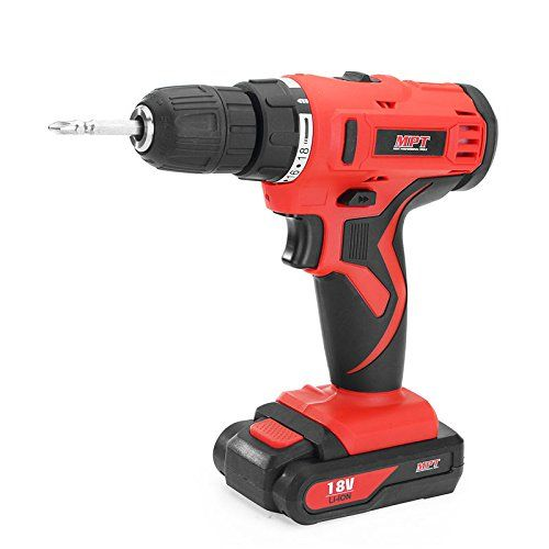 18v Mpt Cordless Drill Battery Screwdriver Lithium Ion Mini Drilling Machine Want To Know More Click On The Cordless Drill Batteries Cordless Drill Drill