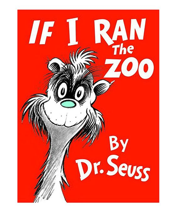 Dr. Seuss If I Ran the Zoo Hardcover by Dr. Seuss #zulily #zulilyfinds