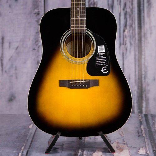 Epiphone Dr 100 Dreadnought Vintagesunburst Guitars Acoustic Replay Guitar Exchange Epiphone Acoustic Guitar Guitar