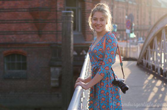 Hamburger Liebe: Eine Idee sucht sich ihren Weg... von Scribble zum fertigen Lieblingskleid