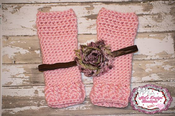 Newborn crochet legwarmers  crochet leg by MelsDesignBoutique