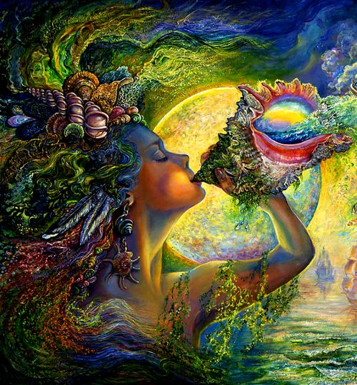 spiritual art  Josephine Wall your soul calls to you and leaves an imprint of energy wherever it has been. The Soul Seer. www.precioussouls.uk.com
