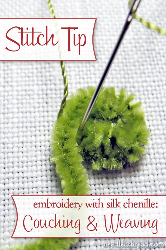 Silk embroidery and how to use on pinterest for What do we use silk for