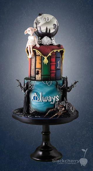 Harry Potter Aragog and Dobby Cake -Little Cherry
