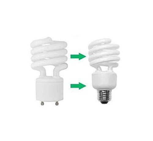 Qich 14pcs Standard Gu24 To E27 E26 Bulb Lamp Base Adapter Holder Socket Converter Us 13 99 Free Shipping Bigboxpower Lamp Bases Bulb Sockets