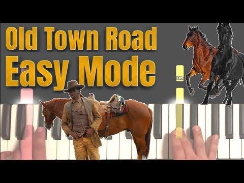 How To Play Old Town Road On Piano In Under 4 Minutes Easy Piano