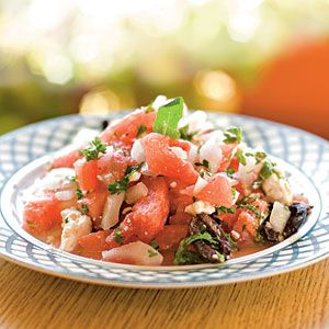 4th of July Recipes | Watermelon Salad | CookingLight.com