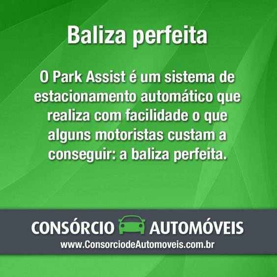 #CuriosidadeSobreCarros  O Park Assist é um item que realmente faz a diferença, pois traz facilidade e tranquilidade para o condutor que tem a certeza de que seu carro sairá ileso da manobra. Veja: https://www.consorciodeautomoveis.com.br/noticias/baliza-perfeita-confira-os-recursos-do-park-assist?idcampanha=206&utm_source=Pinterest&utm_medium=Perfil&utm_campaign=redessociais
