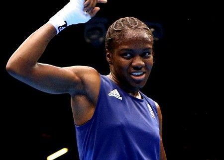 Nicola Adams, one of the world's first female Olympic boxing champions, is from Yorkshire. So proud.