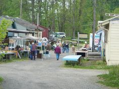 We are a unique flea market, offering vendors with both new and used items for sale.