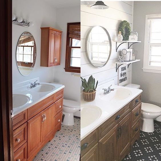 Before After Bathroom Renovations That Will Blow Your Mind Momooze Bathroom Renovations Bathrooms Remodel Bathroom Makeover