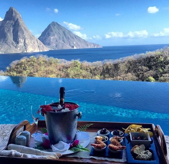 St.lucia simply beautiful!